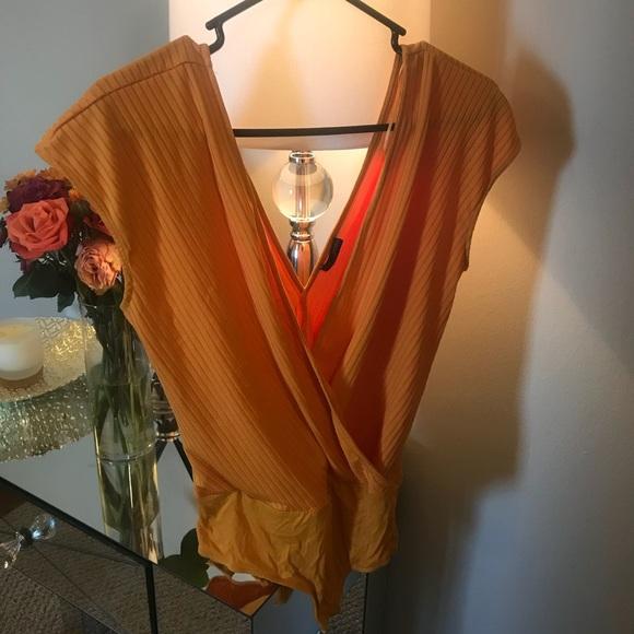 Zara Tops - Orange Zara Top M